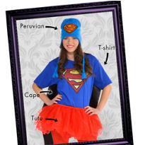 Supergirl Mix & Match Women's Looks - Superman