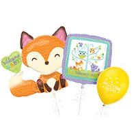 Welcome Baby Balloons - Woodland Animals