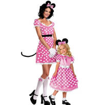 Minnie Mouse Mommy and Me Costumes