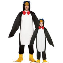 Penguin Daddy and Me Costumes