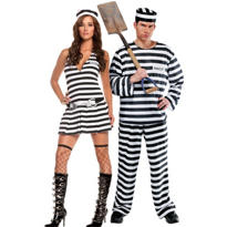 Inmate Couples Costumes