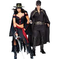 Zorro Couples Costumes