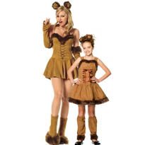 Cuddly Lion Mommy and Me Costumes