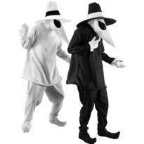 Black Spy and White Spy Vs. Spy Couples Costumes