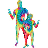 Tie-Dye Morphsuits Daddy and Me Costumes