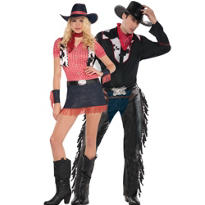 Rawhide and Outlaw Couples Costumes