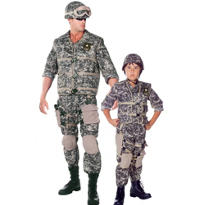 US Army Daddy and Me Costumes