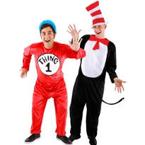 Cat in the Hat Couples Costumes