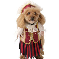 Pirate Queen Dog Costume