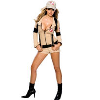 Sexy Ghostbuster Costume Adult