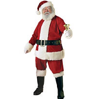 Adult Ultra Velvet Santa Suit