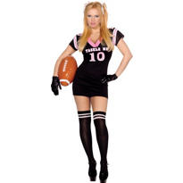 Adult Tackle Me Sexy Football Player Costume