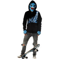 Teen Boys Bloodshed Costume