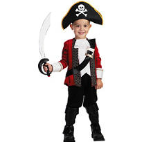 Toddler Boys El Capitan Pirate Costume
