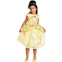 Girls Belle Costume Deluxe