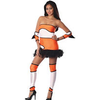 Adult Naughty Nem-Oh Costume - Playboy