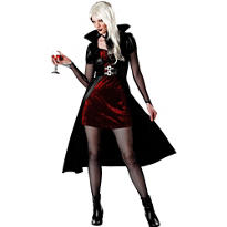 Adult Blood Thirsty Beauty Vampire Costume