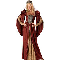 Adult Renaissance Maiden Costume