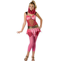 Teen Girls Veiled Vixen Costume