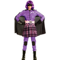 Adult Hit-Girl Costume Deluxe - Kick-Ass