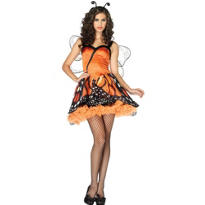 Adult Lovely Monarch Butterfly Costume