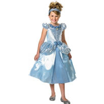 Girls Shimmer Cinderella Costume