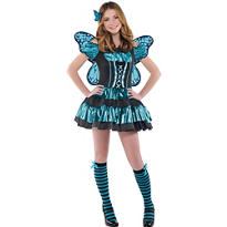 Teen Girls Twilight Shimmer Butterfly Costume