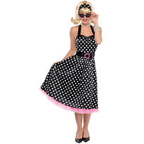 Adult Polka Dot Cutie 50's Costume