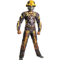 Boys Bumblebee Muscle Costume - Transformers
