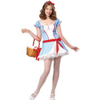 Teen Girls Gingham Girl Costume