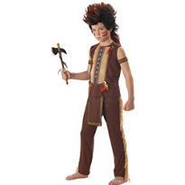 Boys Warrior Native American Costume