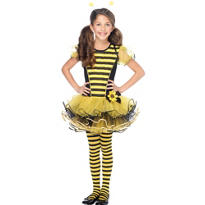 Girls Buzzzy Bee Costume