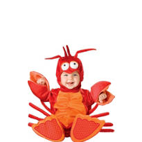 Baby Lil Lobster Costume Deluxe