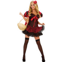 Adult Little Red Riding Hood Costume Deluxe