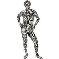 Adult Zebra Morphsuit