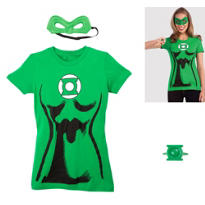 Female Green Lantern Accessory Kit