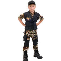 Boys Seal Team Costume Deluxe