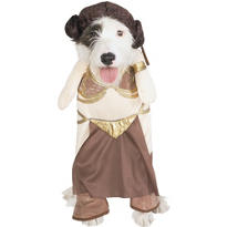Star Wars Princess Leia Slave Dog Costume