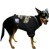 New Orleans Saints NFL Dog T-Shirt
