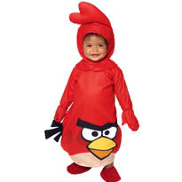 Baby Red Angry Birds Costume