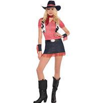 Adult Rawhide Cowgirl Costume