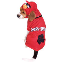 Red Angry Birds Dog Costume