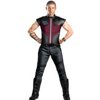 Adult Deluxe Hawkeye Costume - The Avengers