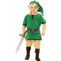 Boys Elf Warrior Costume