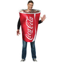 Adult Coca-Cola Cup Costume