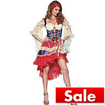 Adult Good Fortune Teller Costume