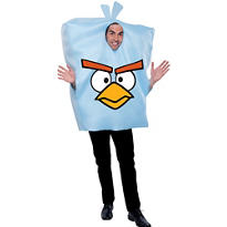 Adult Ice Bomb Costume - Angry Birds Space