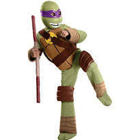 Boys Donatello Costume Deluxe - Teenage Mutant Ninja Turtles