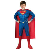 Boys Superman Muscle Costume Deluxe - Man of Steel