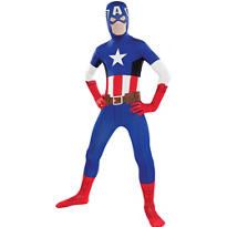 Boys Captain America Partysuit